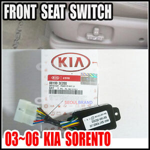 KIA 2003~2006 Sorento All Model(3.5L) Seat Switch Power Front Left  88199-3E200