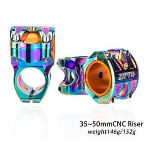 35/50MM Road Bike Stem Bicycle Parts 0°short colorful oil Slick Stems newLDUK
