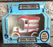 1987 ERTL 1905 Ford Delivery Car Bank 1 25 Scale...NEW