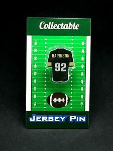 Pittsburgh Steelers James Harrison jersey lapel pin-Classic Retro Collectable