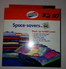 American Tourister carry on size space saver Space Bags vacuum seal