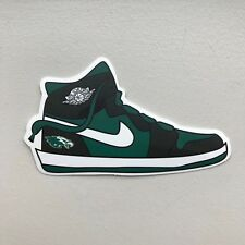 "Air Jordan 1 One  ""Philadelphia Eagles"" - Sneaker Laptop Stickers and Decals"