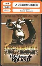 FICHE CINEMA : LA CHANSON DE ROLAND - Kinski,Sanda,Cuny 1978  The Song of Roland
