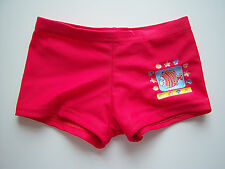 BABY BOYS BOXER STYLE SWIM TRUNKS FISH SHELL DESIGN RED AGE 12 MONTHS FRENCH