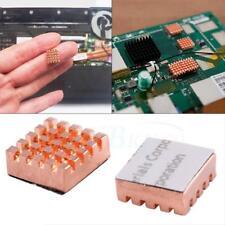 8pcs Copper Heatsink Heat Sink for Raspberry Pi Fin Radiator Cooling Tool