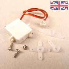 Pack of 2 x Nano / Ultra Micro Mini Feather 1.7g Digital Servo - UK Seller 2x