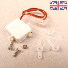 Confezione di 2 Nano/Ultra x Micro Mini Feather 1.7 G Digital Servo-UK venditore 2x
