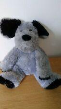 Peluche doudou chien gris noir Agnès b. 25 cm