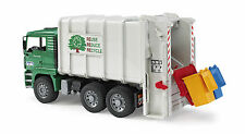 Bruder 02764  Müllauto Seitenlader MAN TGA Müllwagen Müll-LKW  Bworld