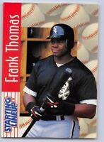 1997  FRANK THOMAS - Starting Lineup Card - SLU - CHICAGO WHITE SOX