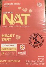 Pruvit Keto Nat Heart Tart 20 Servings Ketones