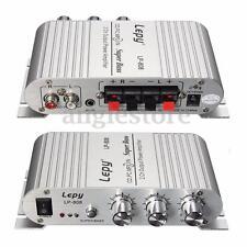 Mini Hi-Fi 2.1 2CH MP3 Radio Car Auto Audio Super Bass Speaker Power Amplifier