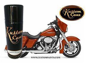 HARLEY DAVIDSON - SEDONA ORANGE, 12oz Aerosol Can KIT . MOTORCYCLE, HOK