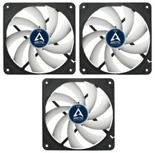 3 x pacco da Arctic Cooling F12 120 mm 12 cm Ventola per custodia PC, 1350 RPM, 53CFM, 3 Pin