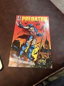 Dark Horse Comics Predator 1 June 1989
