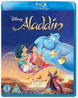 ALADDIN [Blu-ray] (1992) Disney Original Animated Cartoon Movie Robin Willams