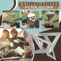 Outdoor Camping Portable Folding Funnel Filter Cup Coffee Ground Filter