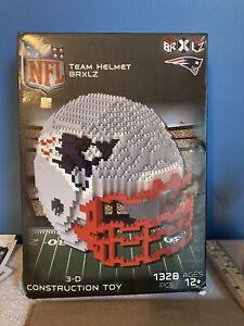 New England Patriots BRXLZ Team Helmet 3D Toy PUZZLE 1328 Pcs NFL