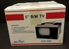 "Action 5"" B/W Portable Color Television  ACN 3505-Free Shipping"