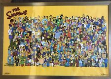 The Simpsons 2000 Signed By Marilyn Frandsen Scorpio Posters 521 Original Framed