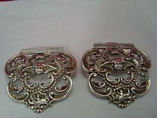 Sterling Silber Gürtelschnalle Puttis Putto aus London 925 RAR