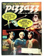 December 1978, Pizzazz Marvel Magazine Sci Fi Battlestar Galactica Cover