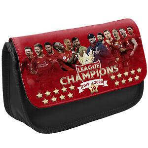 Liverpool Champions Pencil Case Boys Football Winners 19 Childrens School Pens