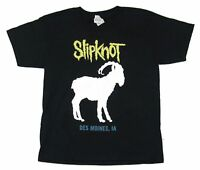 Slipknot Goat 2016 World Tour Kids Youth Black T Shirt New Official Band Merch