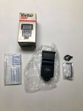 Vintage  Vivitar 2500 Electronic Zoom Flash Bounce Zoom Head Auto Thyristor New