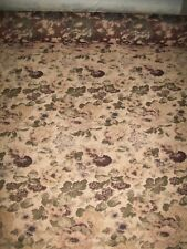 Tapestry Floral Upholstery Fabric Material Antiques by the metre (6) velvet feel