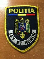 ROMANIA PATCH POLICE POLITIA NATIONAL - ORIGINAL!