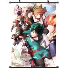 Anime Boku no Hero Academia My Hero Academia Wall Scroll Poster 2878