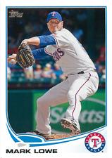 2013 Topps #57 Mark Lowe Texas Rangers