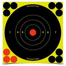 "Birchwood Casey Shoot-N-C Self-Adhesive 6"" Bullseye Targets 12-Pack # 34512 New"