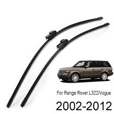 Front Windshield Wiper Blades Set For Range Rover L322 HSE Supercharged 02-12