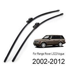 "26""26"" Front Windshield Wiper Blades Set Kit For Range Rover L322 4.4 4.2 5.0"