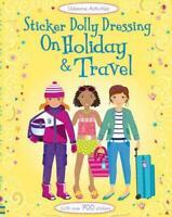 Sticker Dolly Dressing Holiday & Travel (Usborne Sticker Dolly Dressing) by Fion
