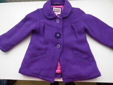 Ted Baker baby girl purple coat 18-24 months
