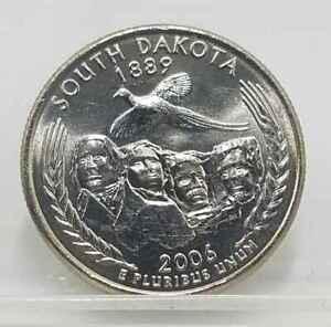 2006 South Dakota Quarter | Philadelphia | 25 cent Statehood Quarter Coin