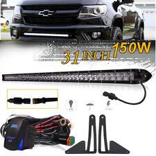 30inch LED Light Bar Bracket Wiring Kit For 15-18 Chevrolet Colorado GMC 31