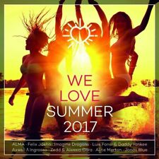 WE LOVE SUMMER 2017  2 CD NEU