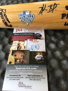 San Francisco Giants Brandon Belt Signed GAME USED BAT 2010 World Series  JSA