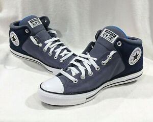 Converse Men's CTAS High Street Navy/Grey Sneakers - Assorted Sizes NWB 170124F