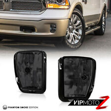 "2013-2018 RAM 1500 SLT Laramie Sport ""Titanium Smoke"" Fog Light Pair Replacement"