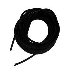 West Coast Paracord 316 X 25 Us Made Shock Cord Black Elastic Bungee Cable