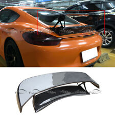 TechArt Style GT Rear Spoiler Wing Carbon Fibre for Porsche Boxster 981 13-14