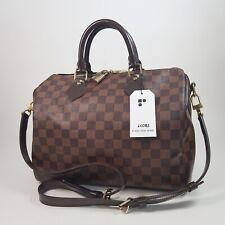 Authentic Louis Vuitton Speedy Bandouliere 30 Damier Ebene N41183 Genuine LC083