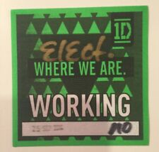 One Direction  Harry Styles Where We Are tour new backstage pass local crew