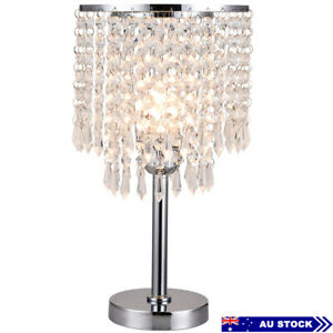 Crystal Lamps For With, Chandelier Bedside Lamps Australia