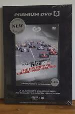 RACING THROUGH TIME THE HISTORY OF GRAND PRIX R DVD & IN-DEPTH PUBLICATION. NEW.